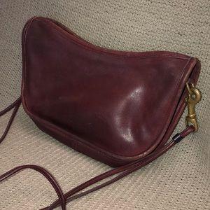 Vintage Coach Leather Handbag